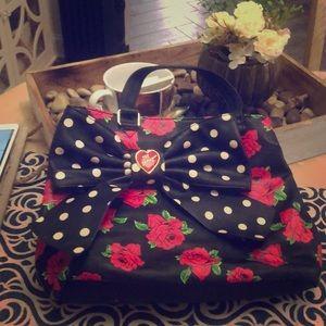 Betsy Johnson Rose Bag
